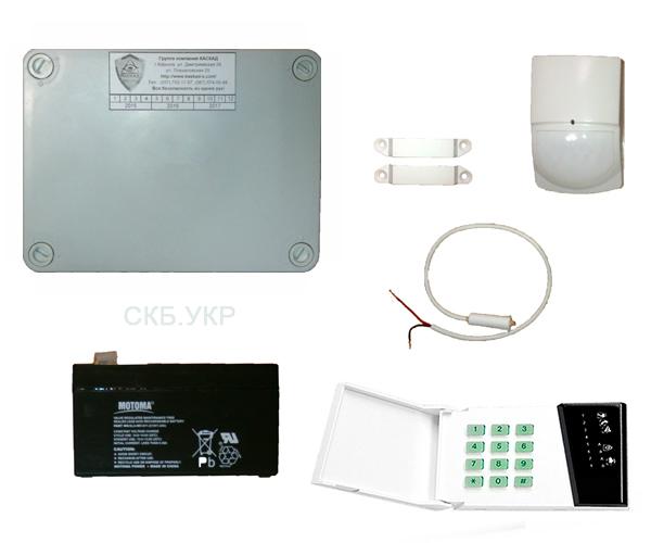 Охранная сигнализация ОКТАНТ + клавиатура CA-6 KLED