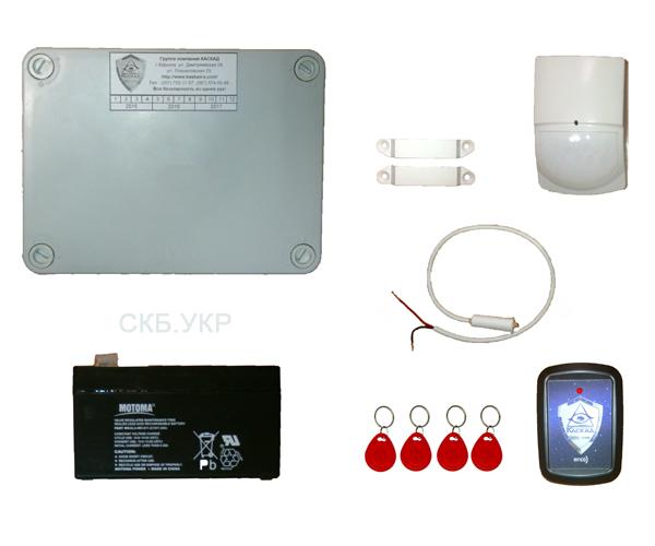 установка охранной GSM сигнализации