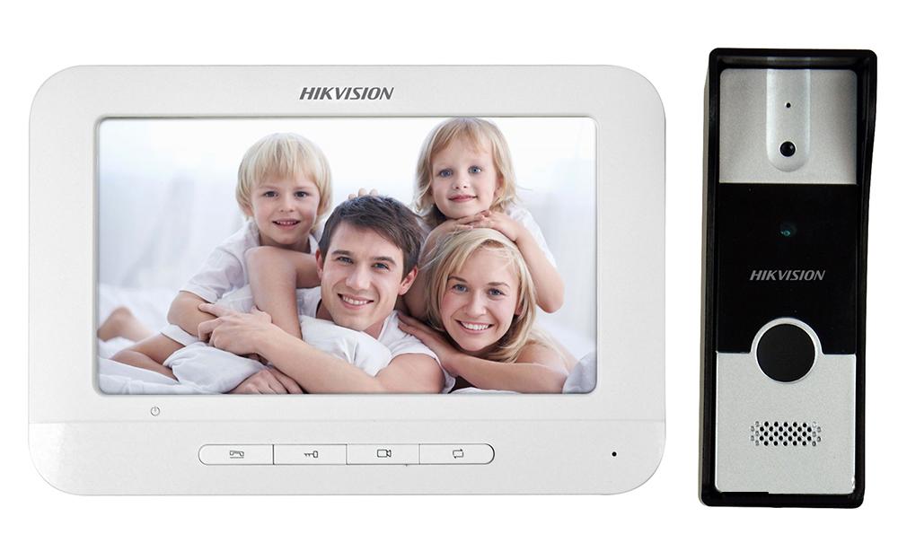Комплект домофона Hikvision DS-KIS201