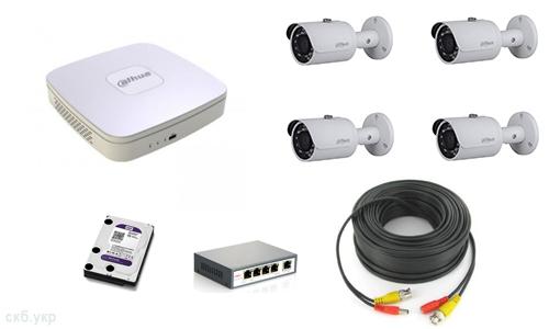 IP видеонаблюдение для улицы